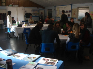 Engaging the community in our business plan, our '1st Gathering' Jan 2012.