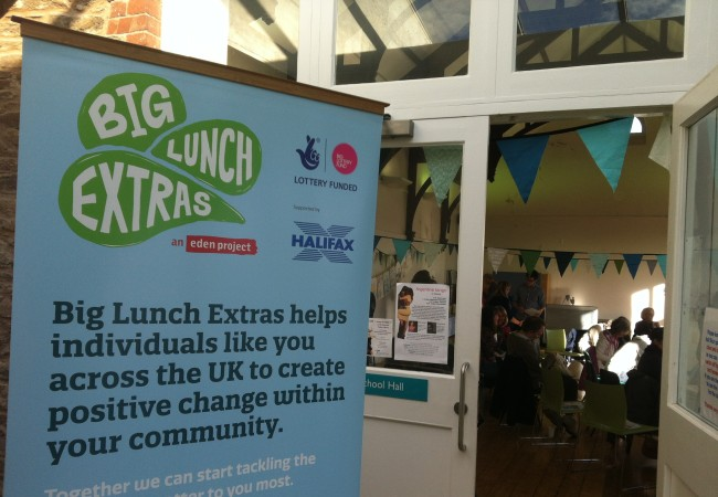 Eden Project Big Lunch Extras comes to Totnes